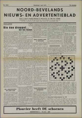 Noord-Bevelands Nieuws- en advertentieblad 1973-04-05