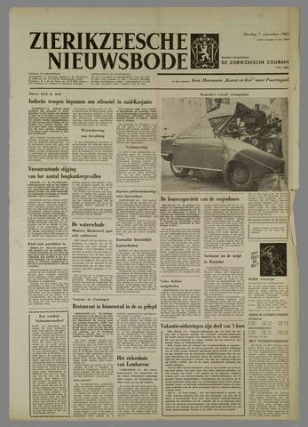 Zierikzeesche Nieuwsbode 1965-09-07
