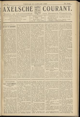 Axelsche Courant 1936-01-10