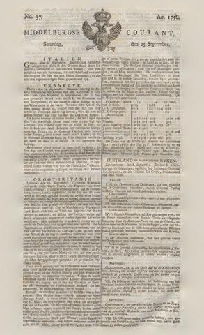Middelburgsche Courant 1758-09-23