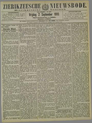 Zierikzeesche Nieuwsbode 1910-09-02