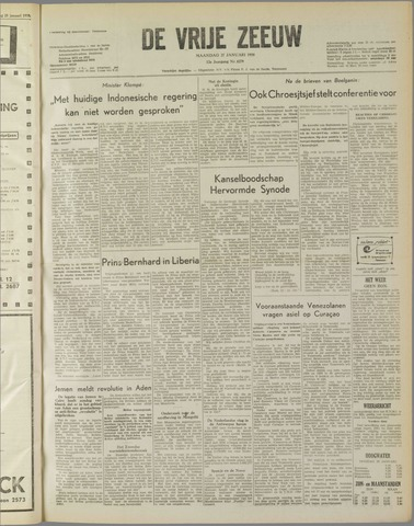 de Vrije Zeeuw 1958-01-27