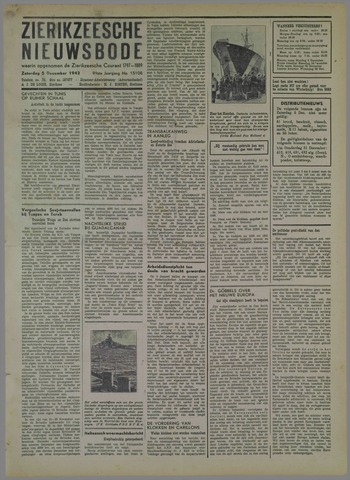 Zierikzeesche Nieuwsbode 1942-12-05