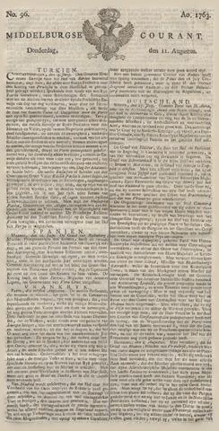 Middelburgsche Courant 1763-08-11