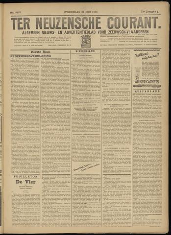 Ter Neuzensche Courant. Algemeen Nieuws- en Advertentieblad voor Zeeuwsch-Vlaanderen / Neuzensche Courant ... (idem) / (Algemeen) nieuws en advertentieblad voor Zeeuwsch-Vlaanderen 1933-05-31