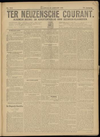 Ter Neuzensche Courant. Algemeen Nieuws- en Advertentieblad voor Zeeuwsch-Vlaanderen / Neuzensche Courant ... (idem) / (Algemeen) nieuws en advertentieblad voor Zeeuwsch-Vlaanderen 1933-01-23