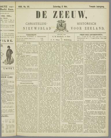 De Zeeuw. Christelijk-historisch nieuwsblad voor Zeeland 1888-05-12