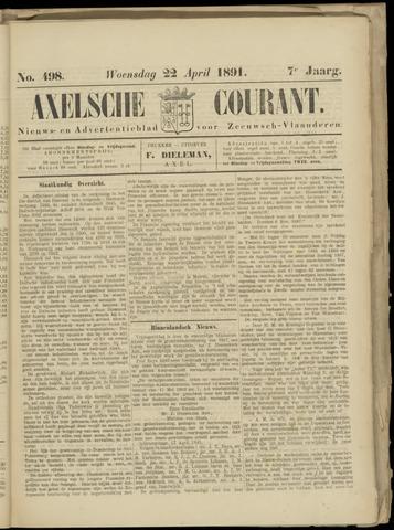 Axelsche Courant 1891-04-22