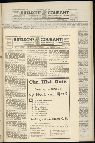 Axelsche Courant 1949-06-15