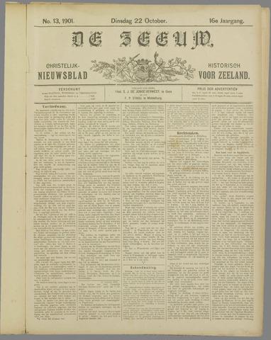 De Zeeuw. Christelijk-historisch nieuwsblad voor Zeeland 1901-10-22