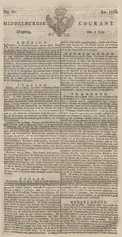 Middelburgsche Courant 1768-07-05