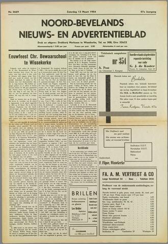 Noord-Bevelands Nieuws- en advertentieblad 1954-03-13