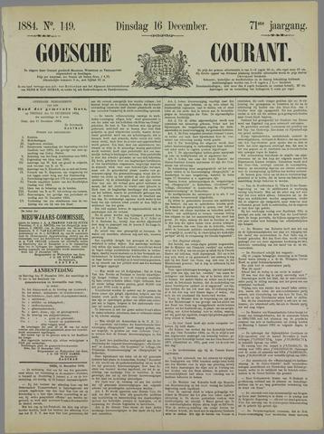 Goessche Courant 1884-12-16