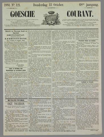 Goessche Courant 1881-10-13
