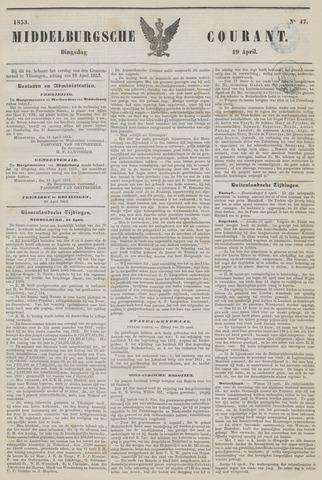 Middelburgsche Courant 1853-04-19