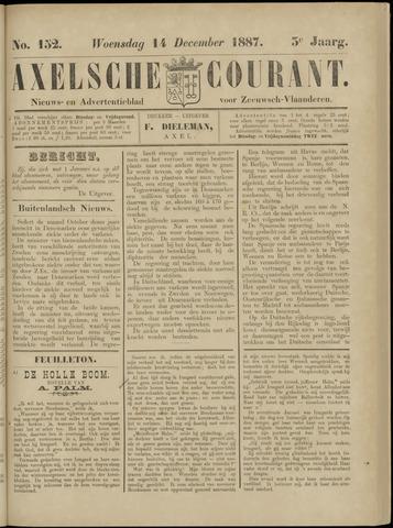 Axelsche Courant 1887-12-14