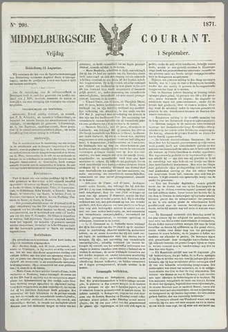 Middelburgsche Courant 1871-09-01