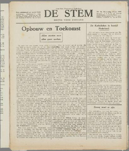 de Stem 1945-01-10