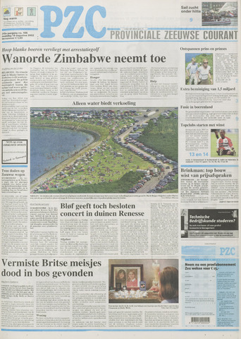 Provinciale Zeeuwse Courant 2002-08-19