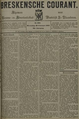 Breskensche Courant 1913-02-26