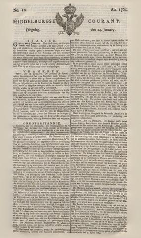 Middelburgsche Courant 1764-01-24