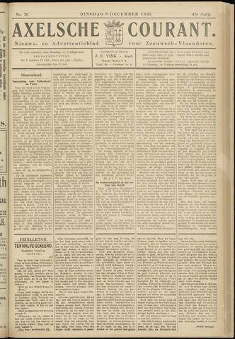Axelsche Courant 1925-12-08