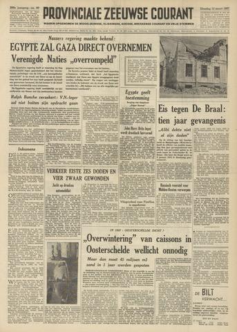 Provinciale Zeeuwse Courant 1957-03-12