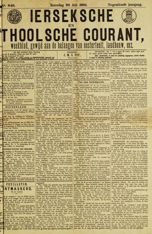 Ierseksche en Thoolsche Courant 1901-07-20