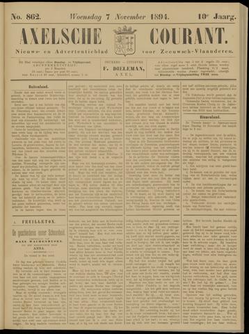 Axelsche Courant 1894-11-07