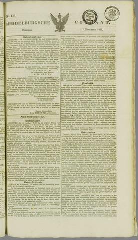 Middelburgsche Courant 1837-11-07