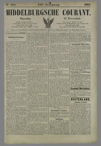 Middelburgsche Courant 1882-11-27