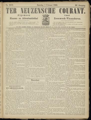 Ter Neuzensche Courant. Algemeen Nieuws- en Advertentieblad voor Zeeuwsch-Vlaanderen / Neuzensche Courant ... (idem) / (Algemeen) nieuws en advertentieblad voor Zeeuwsch-Vlaanderen 1890-02-01
