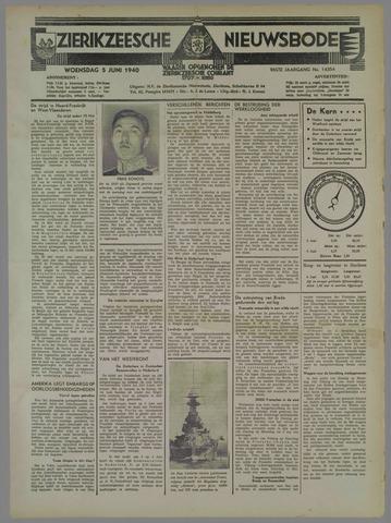Zierikzeesche Nieuwsbode 1940-06-05