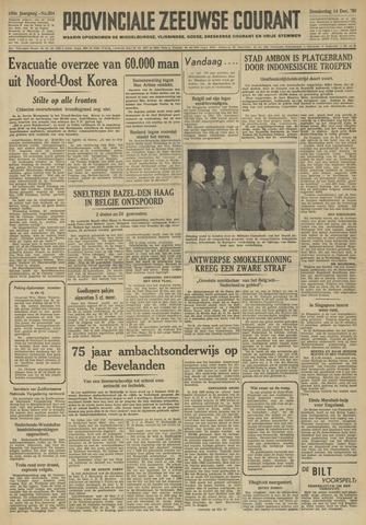 Provinciale Zeeuwse Courant 1950-12-14