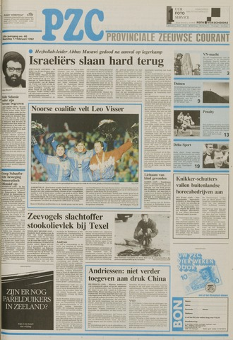 Provinciale Zeeuwse Courant 1992-02-17