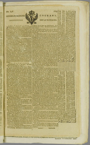Middelburgsche Courant 1805-11-28