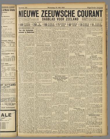 Nieuwe Zeeuwsche Courant 1923-05-30