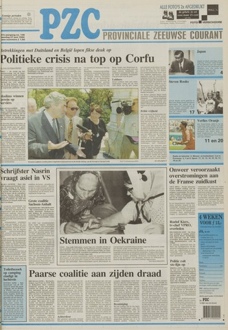 Provinciale Zeeuwse Courant 1994-06-27