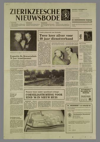 Zierikzeesche Nieuwsbode 1985-09-03
