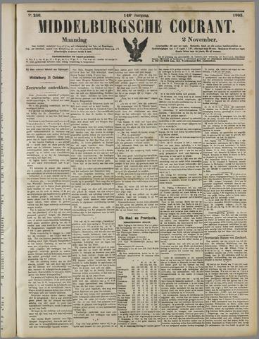 Middelburgsche Courant 1903-11-02
