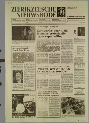 Zierikzeesche Nieuwsbode 1985-04-05