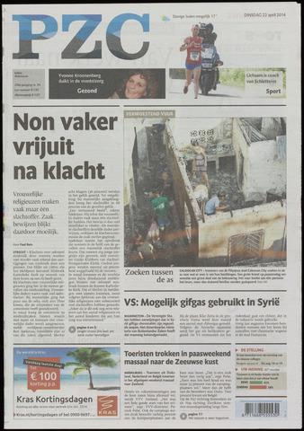 Provinciale Zeeuwse Courant 2014-04-22