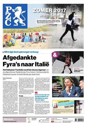 Provinciale Zeeuwse Courant 2017-08-31