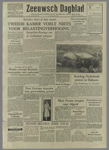 Zeeuwsch Dagblad 1958-03-05