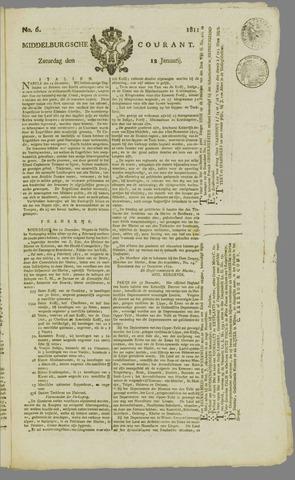 Middelburgsche Courant 1811-01-12