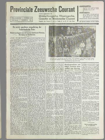 Provinciale Zeeuwse Courant 1940-08-07