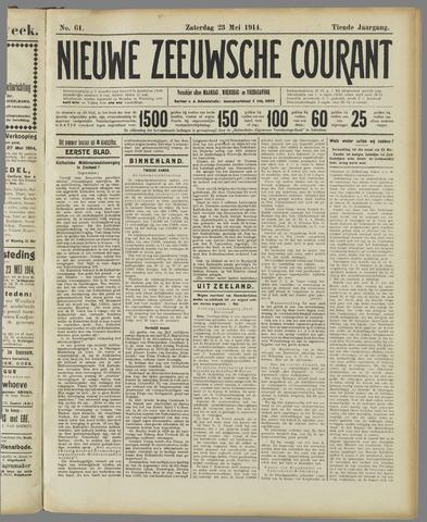 Nieuwe Zeeuwsche Courant 1914-05-23