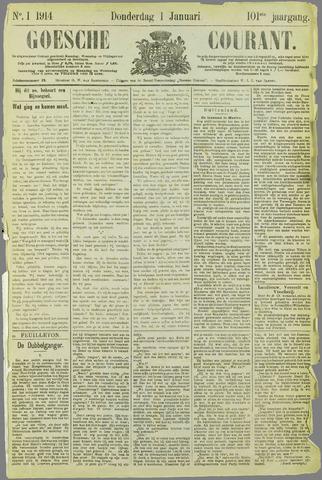 Goessche Courant 1914