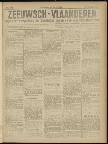 Luctor et Emergo. Antirevolutionair nieuws- en advertentieblad voor Zeeland / Zeeuwsch-Vlaanderen. Orgaan ter verspreiding van de christelijke beginselen in Zeeuwsch-Vlaanderen 1920-06-19