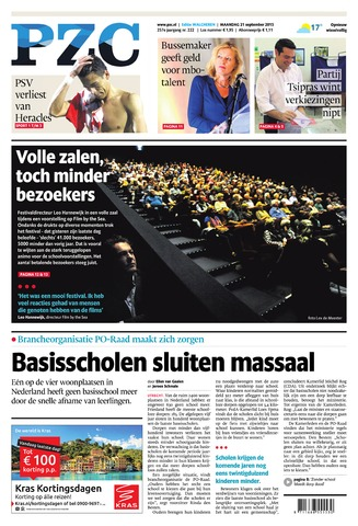 Provinciale Zeeuwse Courant 2015-09-21